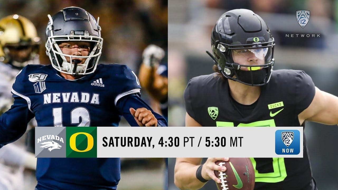 Oregon Ducks football vs  Nevada Wolf Pack: Time, TV channel