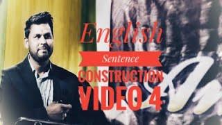 English Sentence constructionVideo -4