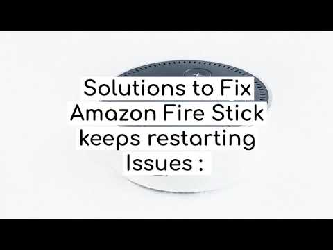Why Your Amazon Fire Stick Keeps Restarting