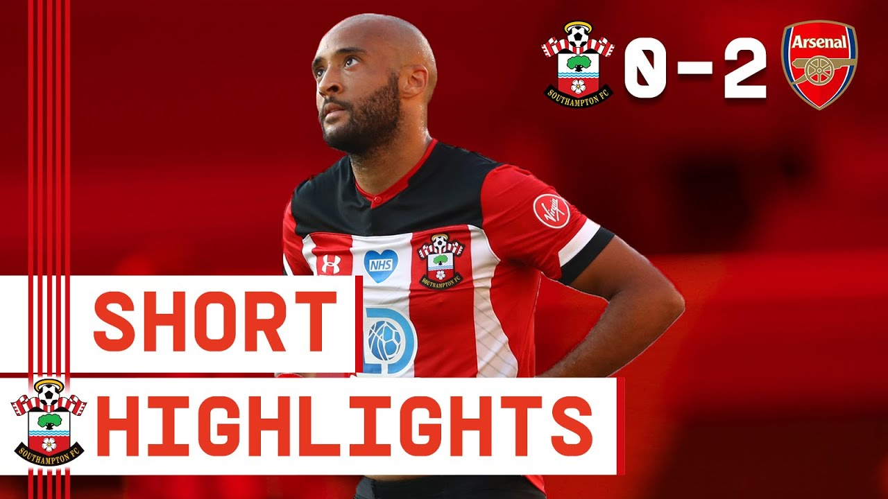 90-SECOND HIGHLIGHTS: Southampton 0-2 Arsenal | Premier League