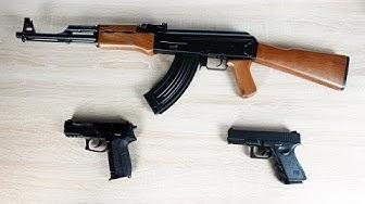 3 SOFTAIR WAFFEN für ANFÄNGER im TEST! - Voll Elektrisches Gewehr und 2 Pistolen!