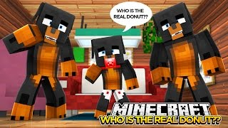 Minecraft COPY CAT - WHOS IS REAL OR FAKE???? - donut the dog minecraft roleplay