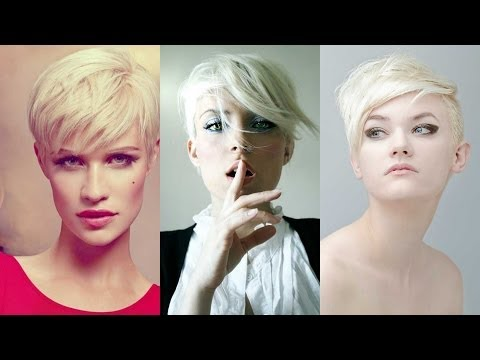 Sexy Blonde Womens bob clipper haircut / Part 2 from YouTube · Duration:  6 minutes 34 seconds
