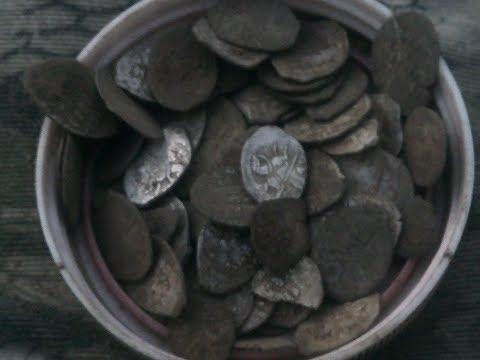 Клад монет  Ивана Грозного