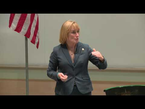 Maggie Hassan: 2016 Race for the U.S. Senate Forum at Tuck