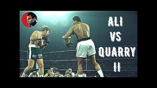 Muhammad Ali vs Jerry Quarry II #Legendary Night# HD