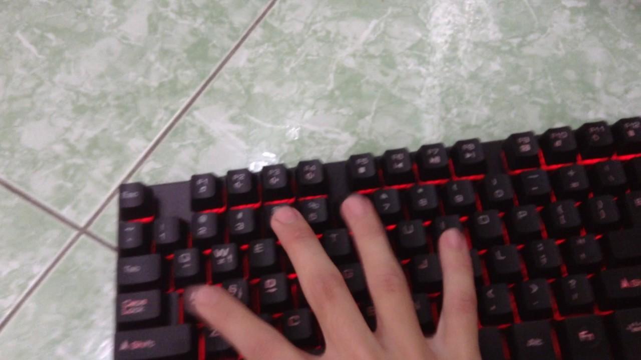 [ Tker The Gamer ] Đập hộp bàn phím r8 1815 vs chuột r8 1630