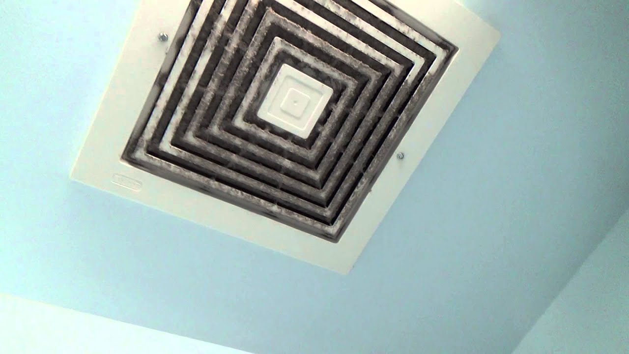 Big-ass Broan exhaust fan - YouTube