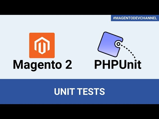 How to create Unit Tests for a Magento 2.3 module