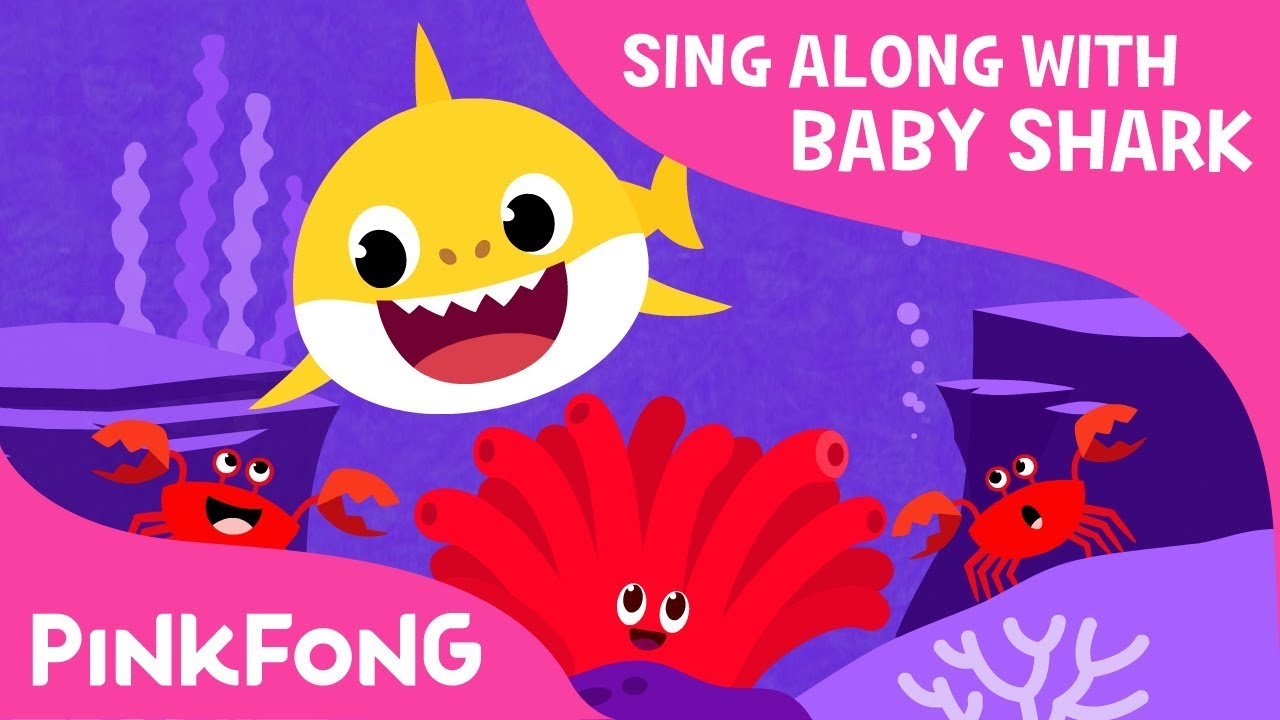 9c8382c42 Colors in the Sea | Learn Colors | Sing Along with Baby Shark | Pinkfong  Songs for Children