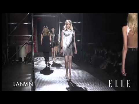 Lanvin. Paris Fashion Week Primavera verano 2013