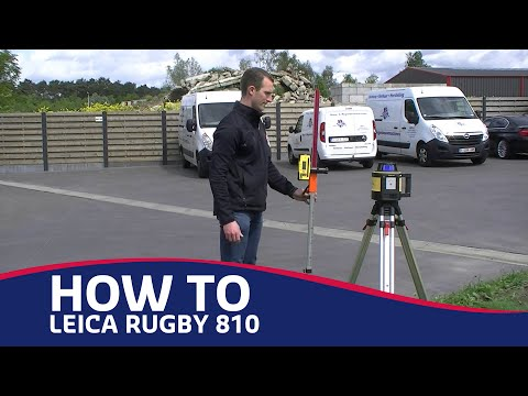 How To: Leica Rugby 810