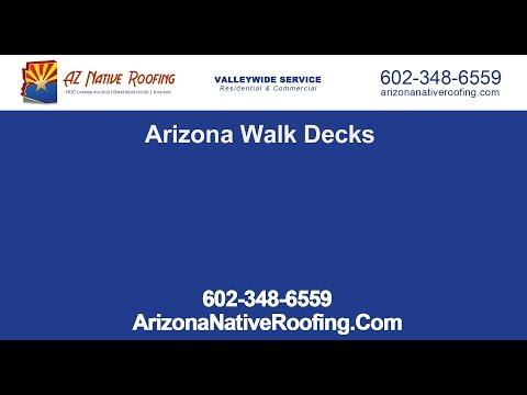 Arizona Walk Decks