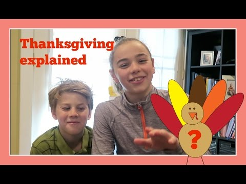 WHAT IS THANKSGIVING? |  Flippin' Katie