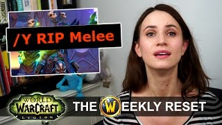 Top Raiders Banned & Free Water Striders! The Weekly Reset: World of Warcraft Legion News