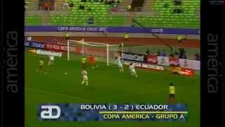 Ecuador vs Bolivia 2-3 Resumen Completo | Copa América Chile 2015