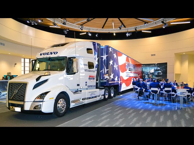 Volvo Trucks - 2021 Exclusive Sponsorship of America's Road Team
