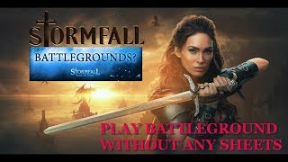 STORMFALL BATTLEGROUND PAYOUT PREVIEW WITHOUT EXCEL!