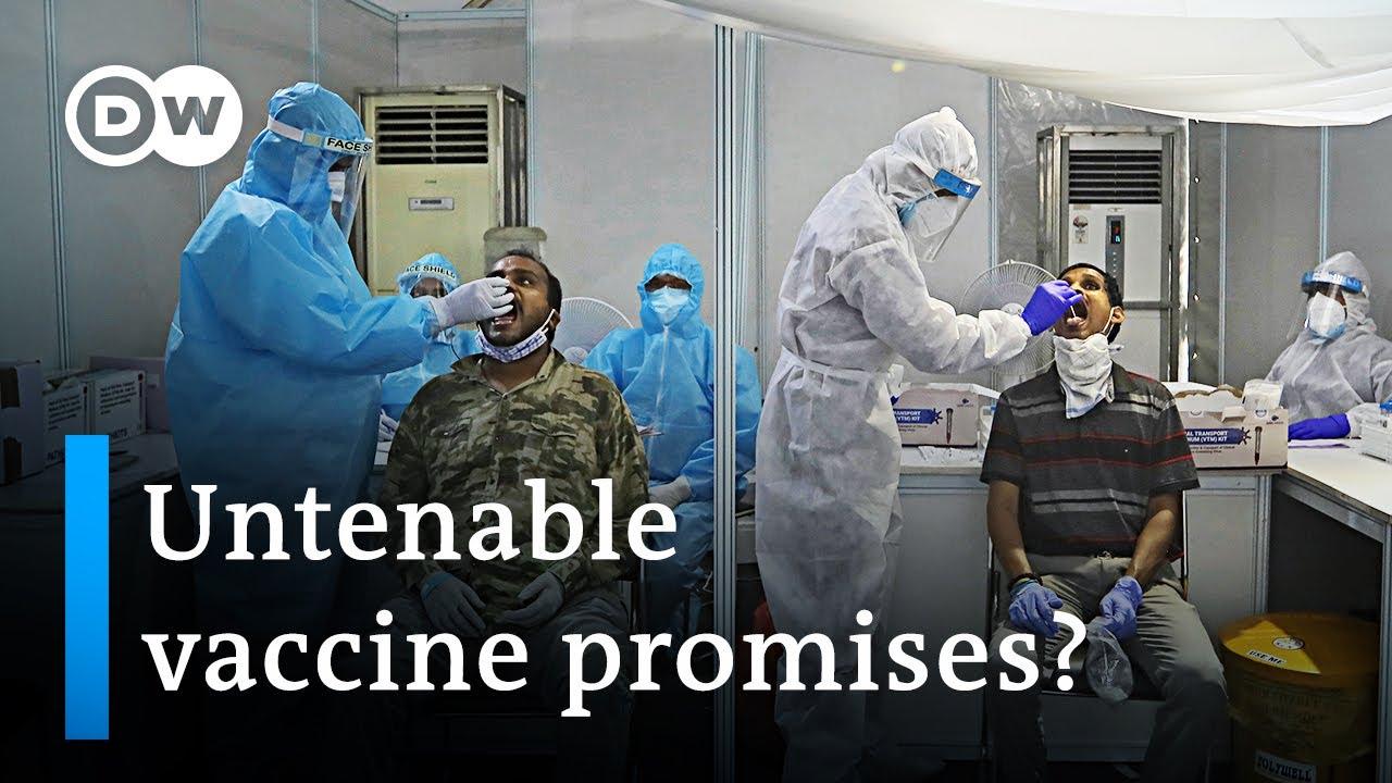 Covid-19 vaccine development sparks political controversy in India   Coronavirus update