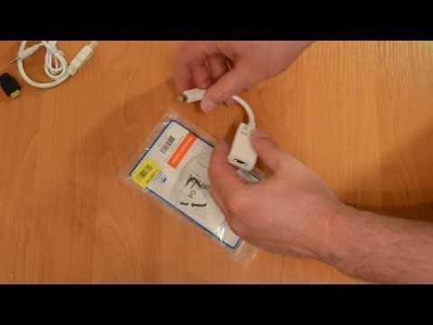 Переходник Manhattan Mini DisplayPort M-HDMI F