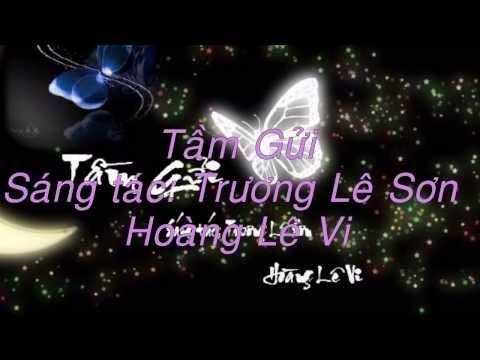 Tầm Gửi  (Hoàng Lê Vi) Lyrics on Screen