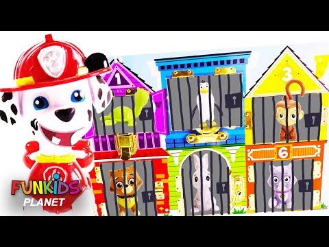 Paw Patrol Marshall Skye & Chase Rescues...