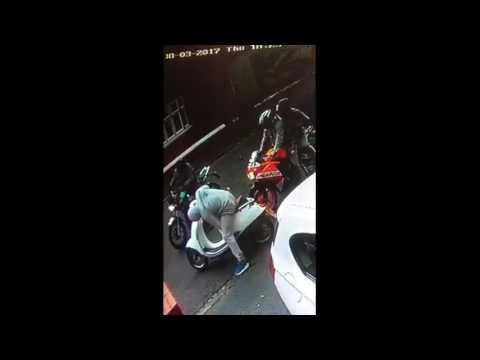 Motorcycle Theft Video Bilston area PLEASE SHARE!