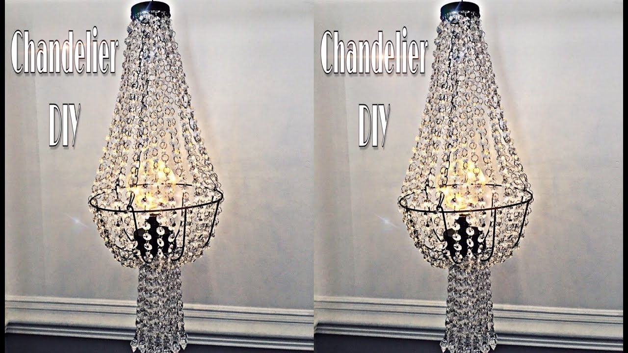 Chandelier Diy Dupe Using Dollar Tree Wire Basket