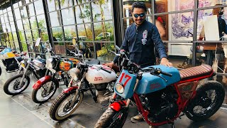 Royal Enfield Garage Cafe It Is..!!!
