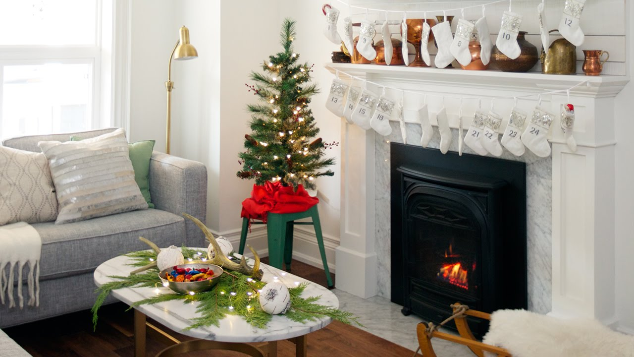 Interior Design U2013 How To Decorate A Small Space For The Holidays   YouTube