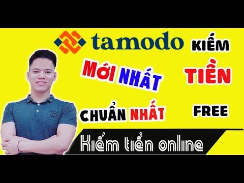 Tamodo Mới Nhất| Hướng dẫn đăng kí tài khoản tamodo và kiếm tiền với Tamodo