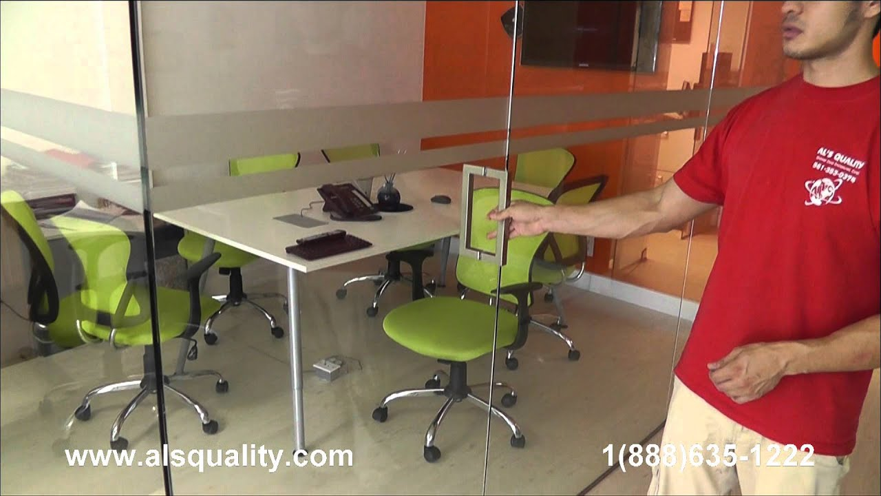 Glass Partition Sound Proof Youtube