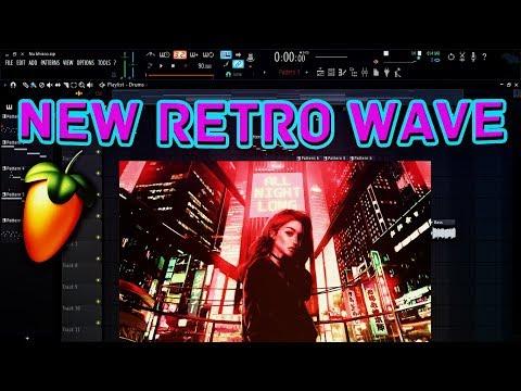 Learn Music Production - New Retro Wave Music in FL Studio 12 Free FLP