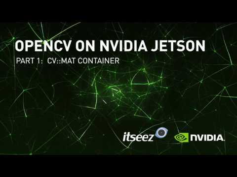 NVIDIA Jetson OpenCV Tutorials - Episode 1