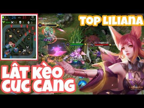 Liliana mùa 15 | Gánh team siêu tạ Lật kèo cực căng với Top 1 Liliana | Liên Quân Mobile