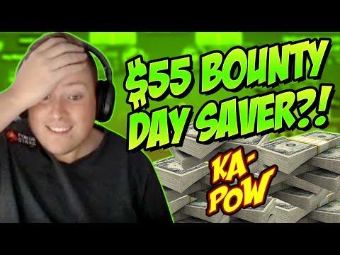 $55 BOUNTY, DAY SAVER?! PokerStaples Stream Highlights