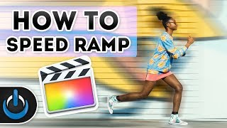 How to Speed Ramp in Final Cut Pro X - FCPX 🏃🏻♂️💨