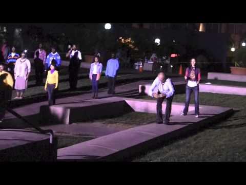SAT Performance Piece @ Pershing Square