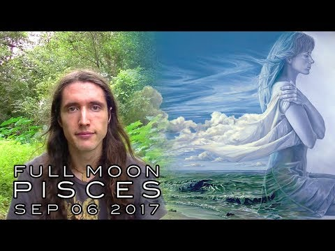 Pisces Full Moon, September 6th 2017 - Keeping Our Feet On The Ground & Unwinding Invisible Knots
