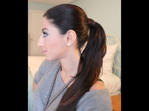How to ponytail with luxy hair extensions youtube how to ponytail with luxy hair extensions pmusecretfo Images