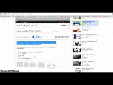 How to embed a YouTube video into Blogger