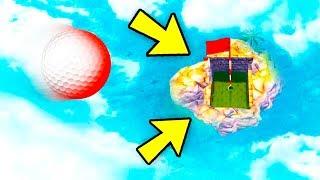 ТОЛЬКО 1% ЛЮДЕЙ МОЖЕТ ПОПАСТЬ С ОГРОМНОЙ ВЫСОТЫ В ЭТУ ЛУНКУ! МЕГА СЛОЖНАЯ ЛУНКА В ГОЛЬФ ИТ (Golf It)
