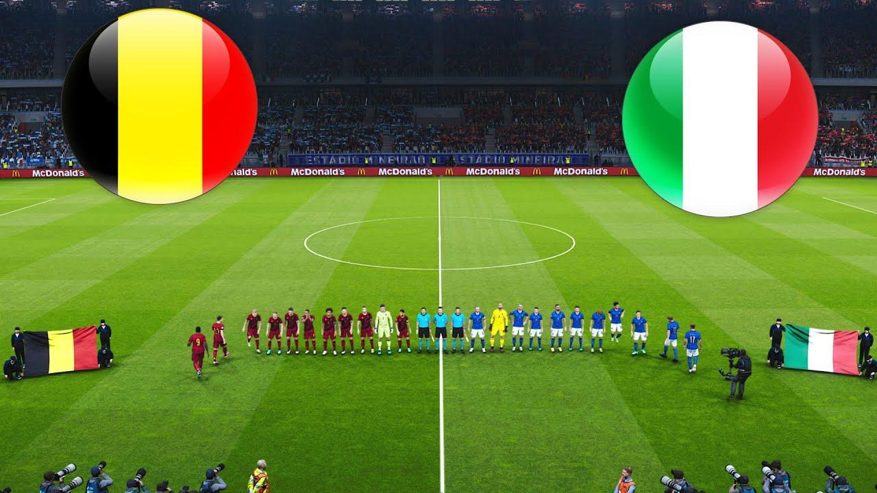 Belgium vs Italy - UEFA EURO 2 July 2021 Gameplay - YouTube
