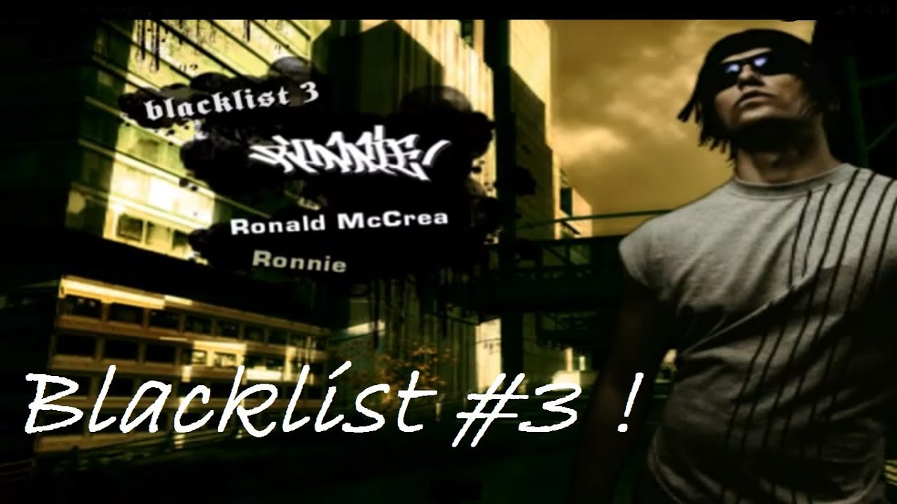 NFS: Most Wanted: Blacklist #3 - Ronnie [HD] (PC) - YouTube