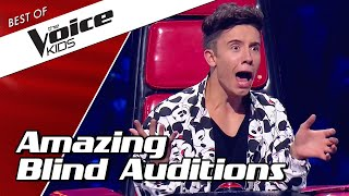 TOP 10 | Most AMAZING BLIND AUDITIONS in The Voice Kids