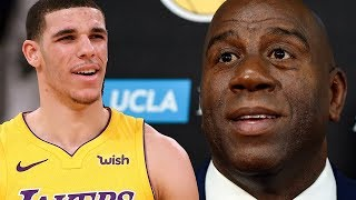 Lonzo Ball ROASTS Magic Johnson For His BIRTHDAY!