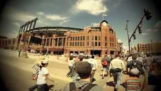 Easter 2014 - Bike to the Game Day at Coors Field - GoPro Hero 3+ Black Edition 1080p HD