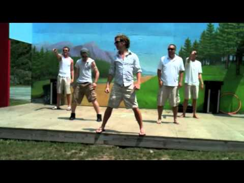 BoulderStreet Boys - Boulder Ridge Day Camp (BRDC) - Backstreet Boys Parody - 2011 - Camp America