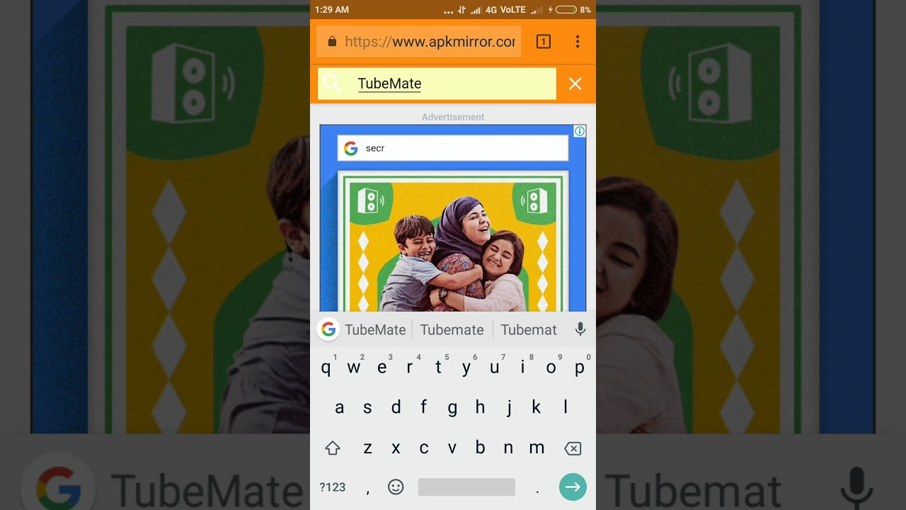 How to download TubeMate app from apkmirror com