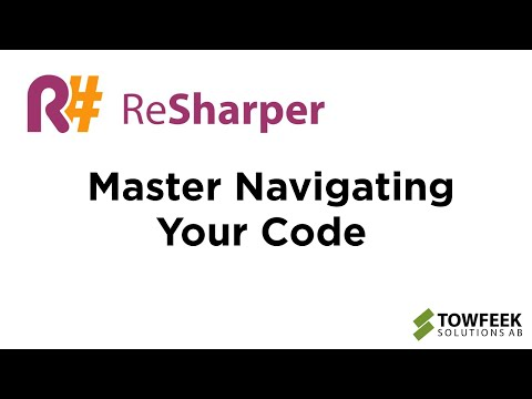 Navigate The Code Like A Professional With ReSharper In VS2015